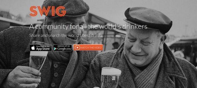 Swig - перша соціальна мережа для алкоголіків