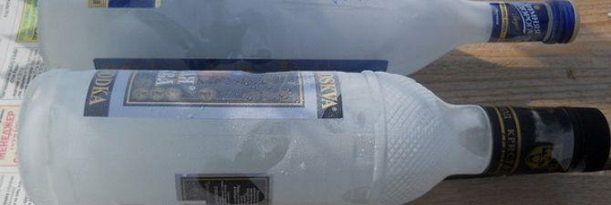 Температура замерзання горілки - якісні показники напою