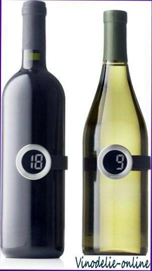 Температурний режим подачі вин