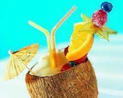 Тропічний коктейль - джерело вітамінів