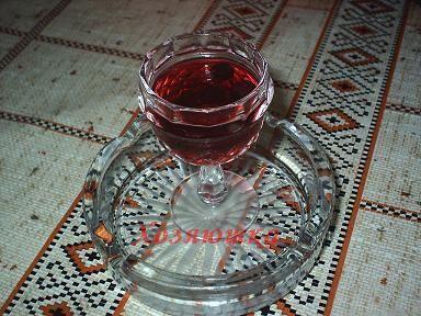 готове рябиновое вино фото