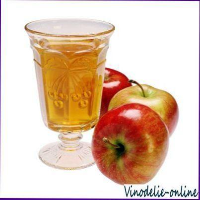 Вино з сушених яблук