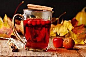 Вітамінні напої з червоної горобини