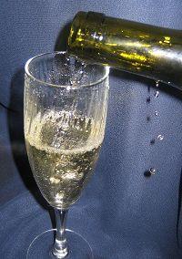 Смачне шампанське з вина