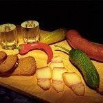 Закуска до горілки - частина російської культури