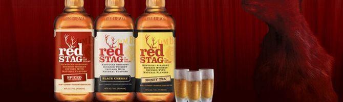 Знаменитий американський бурбон jim beam red stag
